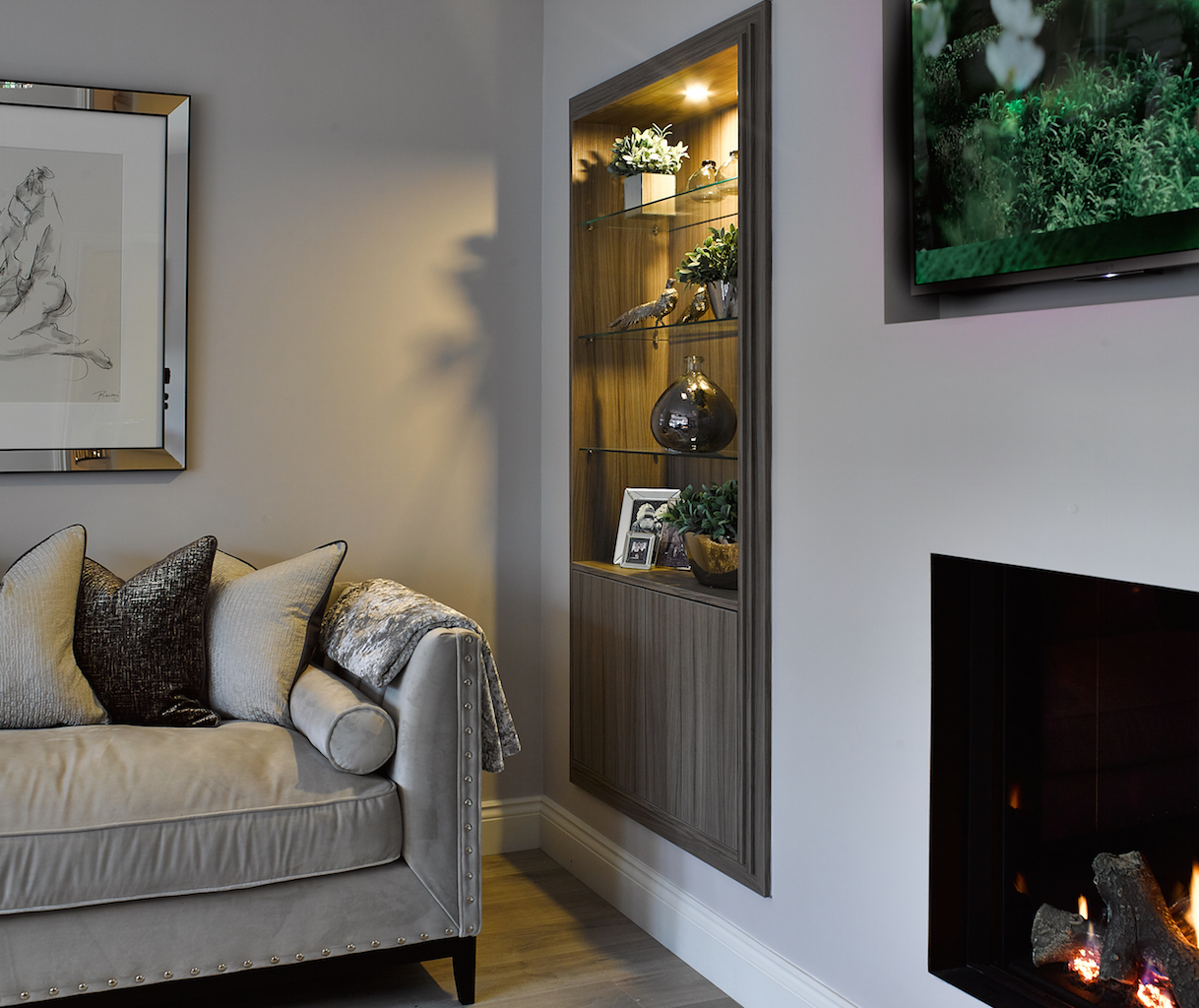 Stretton, Living Room, Bespoke, Interior Design, Cheshire