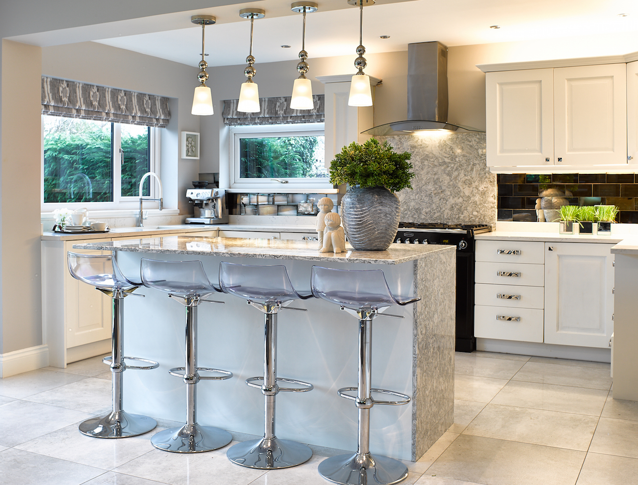Stretton Kitchen Renovation, Elstead Lighting, Interior Design, Cheshire